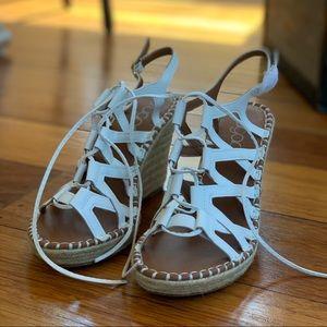 Sugar | Hunnies Wedge Sandal | Size 7.5 (NWOT)